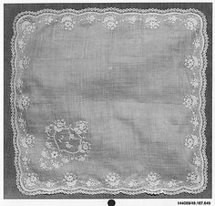 mid-19th century handkerchief Collection | The Metropolitan Museum of Art