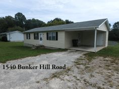 House For Rent #location 1540 Bunker Hill Cookeville With 3 BR 1 BA For Only