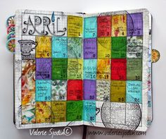 visual blessings: Calendar Chronicles - A Documented Life