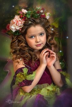 Fairy Photography, Little Girl Photography, Children Photography, Beautiful Fairies, Beautiful Little Girls, Beautiful Children, Cute Girl Image, Girls Image, Cute Kids