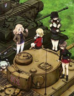 Girls und Panzer: Tanks are ready