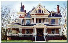 This magnificient home is one of the finest examples of Queen Anne Victorian architecture in Georgia.