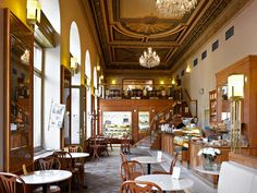 Also good for breakfast/brunch or coffee break is Cafe Savoy - it has a beautiful interior and to-die-for gruyere omelet.  Cakes are super good too.