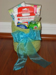Get Well Gift Basket.
