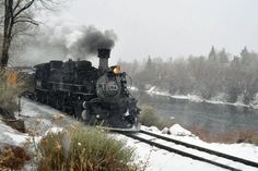 the Polar Express in Talluride, CO Train Car, Train Tracks, Choo Choo Train, Abandoned Train, Train Times, Old Trains, Christmas Travel, Steamers, The Old Days