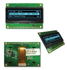 Character and graphic type OLED displays
