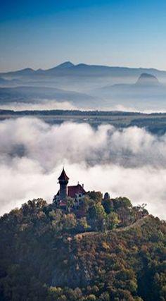 Hněvín castle (North Bohemia), Czechia