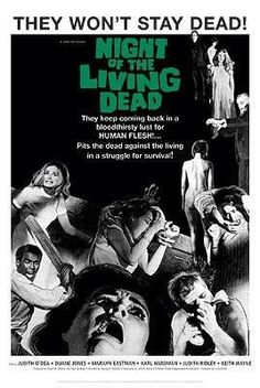 Night of the Living Dead Movie Poster 1968