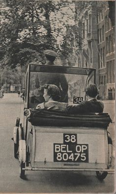 1941. Pony taxi Amsterdam. Preserve your past - Scan old family photos and albums with iPhone or iPad + Pic Scanner app. Click to try it free.