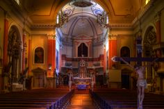 In the church Thousand Islands, Iglesias, Slovenia, Homeland, Interior Architecture, The Good Place, To Go, Interiors, Vacation