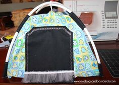Fun and fairly easy to make - this DIY Doll Tent is the perfect gift for your girls! #Singer #DIY #dolltent ad