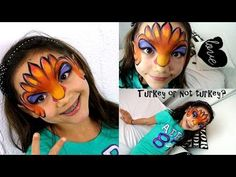17 Thanksgiving Face Painting Designs Ideas Face Painting Designs Face Painting Face