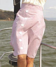 Love this Red Seersucker Above Deck Skirt on #zulily! #zulilyfinds