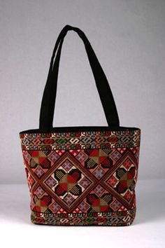 Palestinian embroidered purse