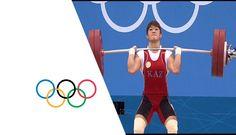 Wins Women's 63kg Weightlifting Gold -- London 2012 weightlifting   Christine Girard