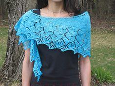 Ravelry: Sweet Caroline Shawl pattern by Mary Annarella