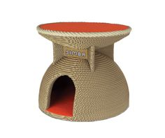 Cat Scratcher, Recycled Materials, Pet Toys, Primary Colors, Cat Lovers, Handmade Items, Etsy, Unique, House
