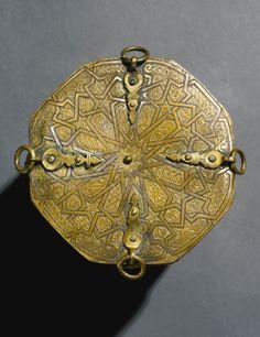 A rare and important Nasrid silvered and gilt-copper pyxis, Spain, century Islamic World, Islamic Art, Exotic Art, Moorish, 14th Century, Modern Art, Bronze, Antiques, Prints