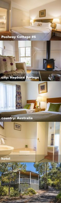 Poolway Cottage #6, city: Hepburn Springs, country: Australia, hotel Australia Hotels, Tour Guide, Loft, Cottage, Country, City, Bed, Furniture, Home Decor