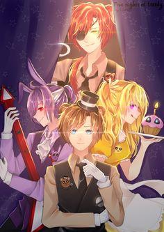 Cartoon As Anime, Anime Fnaf, Animatronic Fnaf, Steven Universe, Fnaf Wallpapers, Fnaf Sl, Fnaf Characters, Fnaf Sister Location, Fnaf Drawings