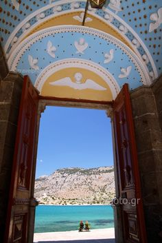 Symi, Panormitis monastery , Greece by Tsouratzis Giannis on Flickr.