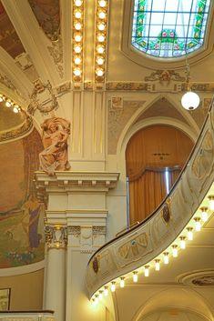 Czech Republic - Municipal House in Prague Prague Travel, Travel Europe, European Travel, Prague Architecture, Art Nouveau Architecture, Madrid, Visit Prague, Prague Czech Republic, Places