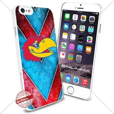 "NCAA Kansas Jayhawks iPhone 6 4.7"" Case Cover Protector for iPhone 6 TPU Rubber Case White SHUMMA http://www.amazon.com/dp/B0175FFDN6/ref=cm_sw_r_pi_dp_PRMTwb00F33JF"