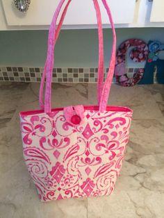 Activity bag for granddaughter, Clara, made 2014