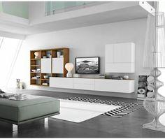 FGF Mobili Design Wohnwand C96B
