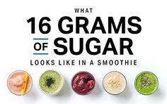 What 16 Grams of Sugar Looks Like in a Smoothie – Pins Homemade Smoothies, Keto Smoothie Recipes, How To Make Smoothies, Apple Smoothies, Strawberry Smoothie, Making Smoothies, Cheesecake Recipes, Smoothie Shop, Gram Of Sugar