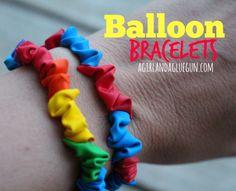 Balloon Bracelets�Summer survival going strong!