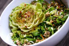 Salade de scarole et son trognon grillé - Brutalimentation