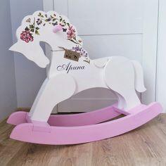 Лошадка-качалка из дерева (от 2 до 7 лет)