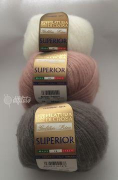 SUPERIOR - Crosa, Cachemire e Seta, pregiata perfezione