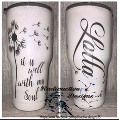 Vinyl Tumblers, Personalized Tumblers, Custom Tumblers, Glitter Cups, Glitter Girl, Glitter Tumblers, Cup Crafts, Crafts To Do, Tumblr Cup