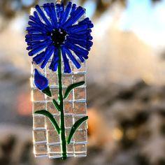 Blue Flower Suncatcher