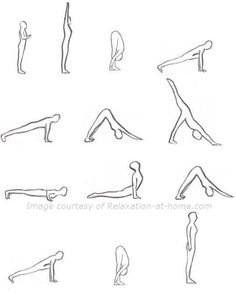 This is the same set my yoga instructor told me to do at home :)
