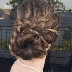 80 Spectacular Hairstyles with Braids -Plaited Fashion-Forward Hairdos Girl Hairstyles, Braided Hairstyles, Updos, Hairdos, Bridal Updo, Plaits, Fashion Forward, Hair Beauty, Dreadlocks