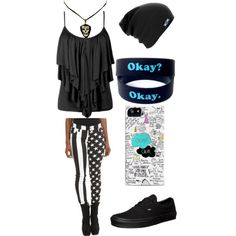"""The Fault in Our Stars"" by metal-head on Polyvore This is my take on an edgy Hazel Grace from The Fault in Our Stars by John Green"