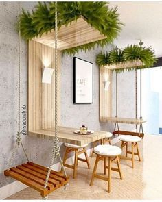 Ideas For Design Furniture Shop Deco Deco Restaurant, Outdoor Restaurant Patio, Coffee Shop Design, Interior Design Coffee Shop, Interior Design Plants, Interior Shop, Best Interior Design, Interior Ideas, Restaurant Interior Design