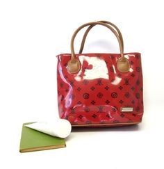 Red Purse Glossy Vinyl Rosetti Handbag  #ROSETTI #Satchel