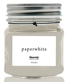 Look what I found on #zulily! Paperwhite Everyday Mason Jar Candle #zulilyfinds