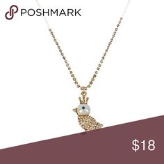 "Final price - Cute bird pendant 💕 Cute bird pendant from Betsey Johnson - brand new! Long chain with adjustable length - 10.5"" drop ❌ no trades ❌ Betsey Johnson Jewelry Necklaces"