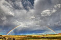 Interrupted Rainbow in Laramie, Wyoming. Photo by turbguy. For more photos, visit wunderground.com