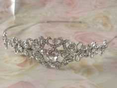 bridal headband crystal