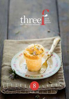 Threef num. 8 Dicembre 2014 - Febbraio 2015  Trimestrale di cucina, design, fotografia