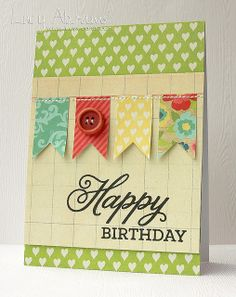 Lucy's Cards by Lucy Abrams: Birthday Banner - Studio Calico October Cards - Post 5