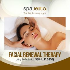 Look more beautiful and younger with the help of our Facial Renewal Therapy using Perfectio X! The kind of facial treatment that will shake off all the aging problems in you!  Benefits: - Lifts and reduces fine lines and wrinkles in just 30 mins! - Lightens and minimizes the appearance of dark circles and eye bags. - Firms and tightens skin. - Promotes skin radiance and whitening. - Hydrates dry skin instantly.  Visit and contact us at: Guthrie Building #01-02, 150 Changi Road Singapore Facial Treatment, Shake It Off, Skin Tightening, Dark Circles, Dry Skin, Whitening, Singapore, The Help, Therapy