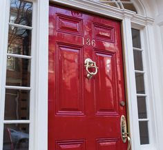 Learn how to give your entry door a mirrored finish.