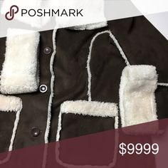 Gorgeous Soft Faux Shearling Coat 🐻 Absolutely stunning faux shearling coat. This is incredibly soft. It feels heavenly! It has a small stain at the collar. (Last photo) Otherwise in excellent condition. Please ask any questions. Vintage Jackets & Coats